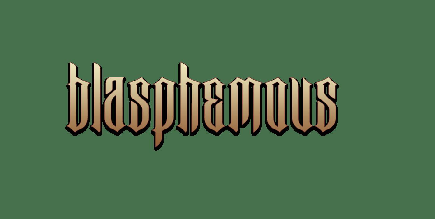 blasphemous logo