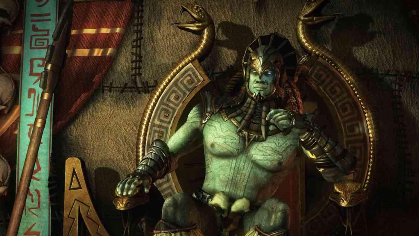 Kotal Kahn en el trono