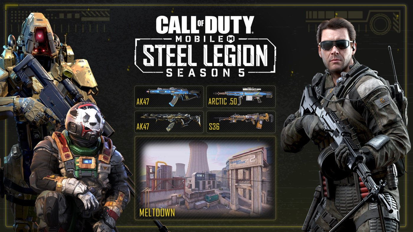 Call of Duty Mobile temporada 5 legion de acero