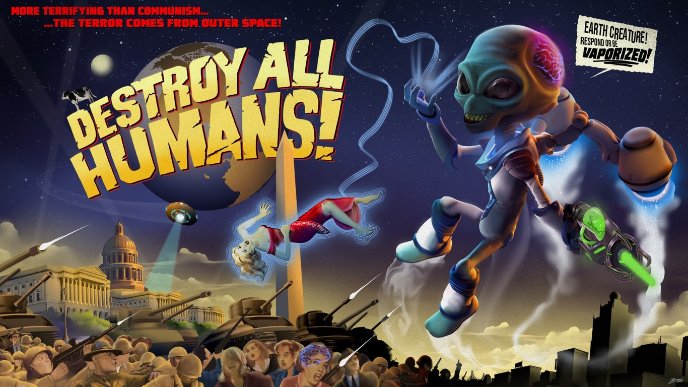 destroy all humans! historia