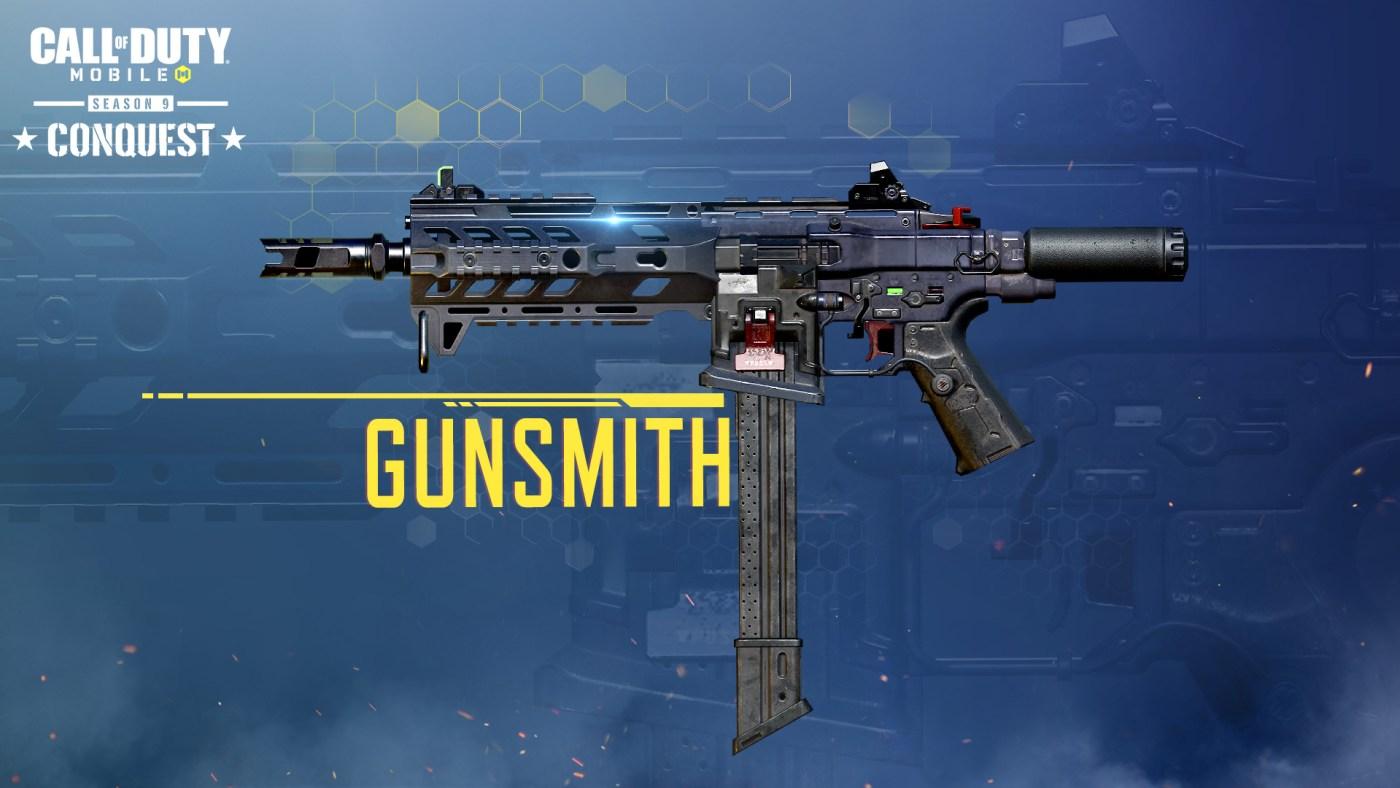 temporada 9 Conquest-Gunsmith