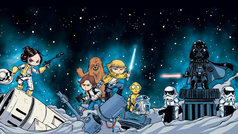 Star Wars 1 cover Young