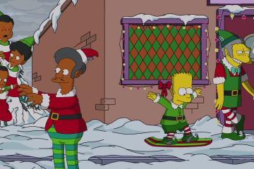consigli natalizi simpsons