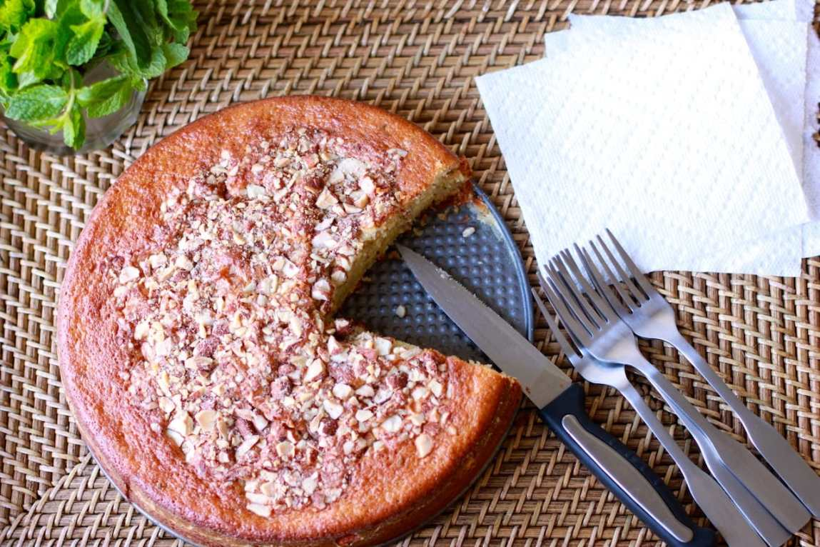 lemon cake with almond 3