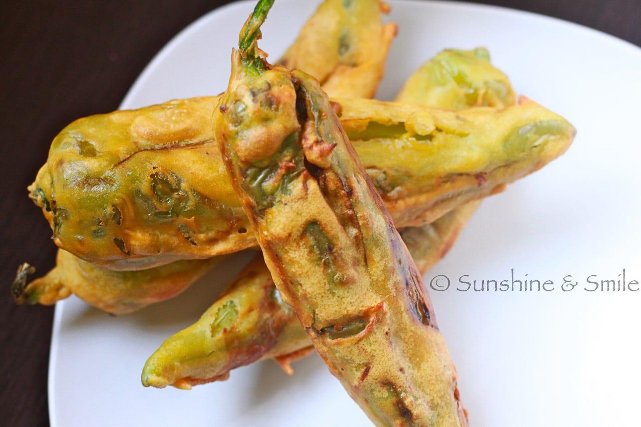 chilli bhajji 5