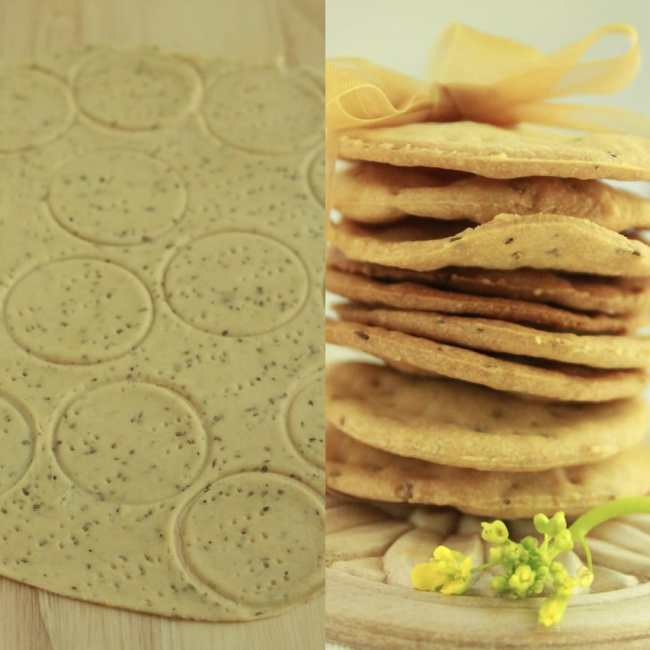 Whole Wheat Carom Seed Crackers 5