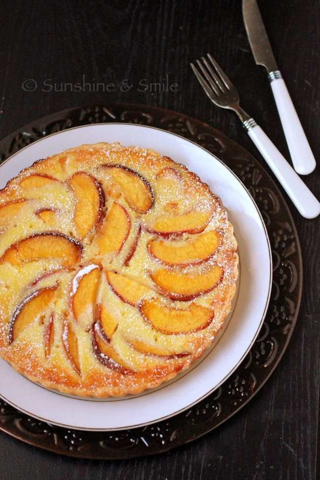 Flaky Tart with Peach and Ricotta 2