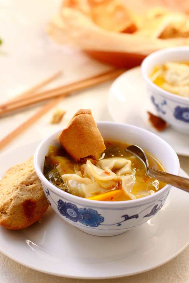 Chicken Wonton Soup 2