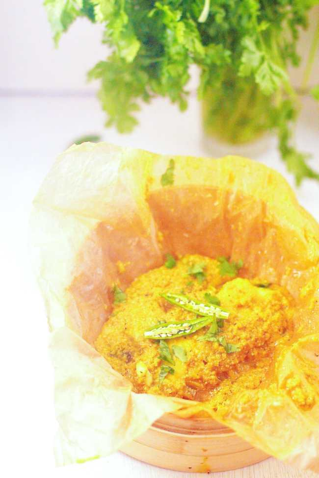 Shorshe Maach / Tilapia in Mustard Sauce - Guest Post for Vijitha @ Spices N Aroma 6