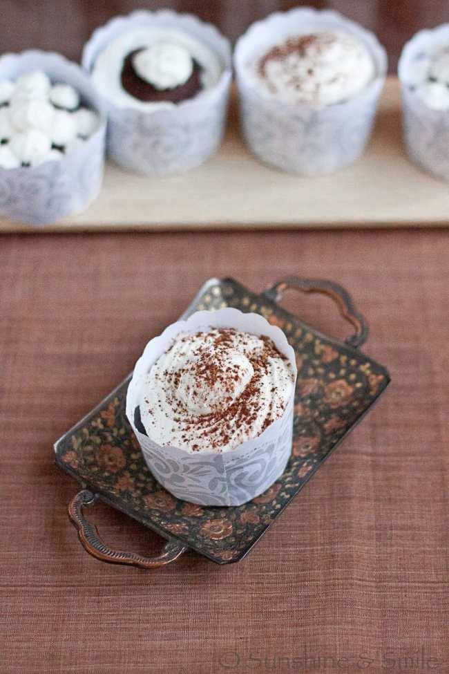 Celebrating 1st Birthday with Espresso Cupcakes 2