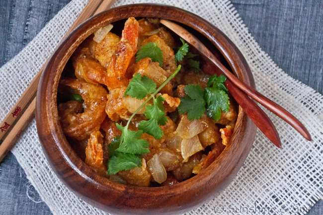 Orange Shrimp 2