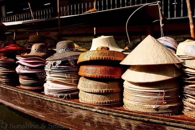 The Floating Market in Thailand 15