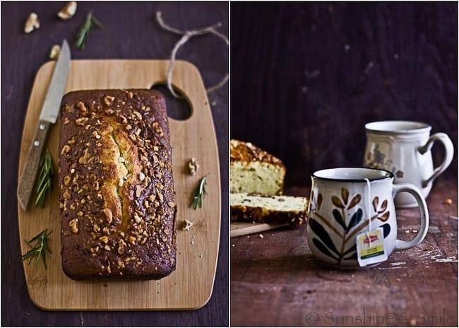 Rosemary-Walnut Loaf Cake 3