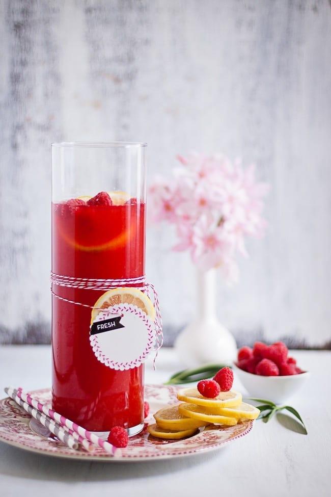 raspberry lemon ice tea 2