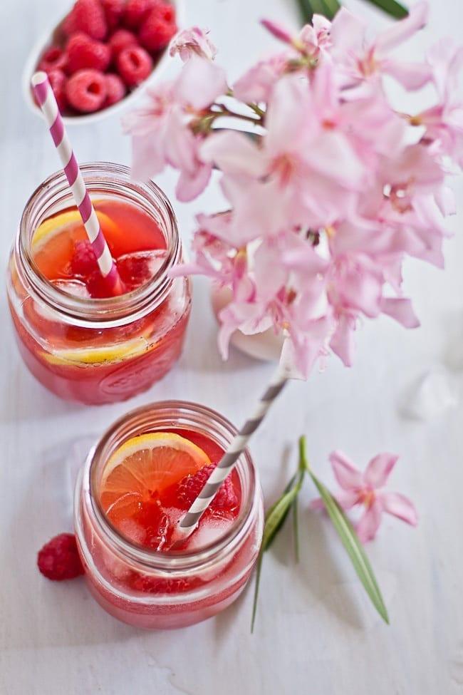Raspberry Lemon Iced Tea 2