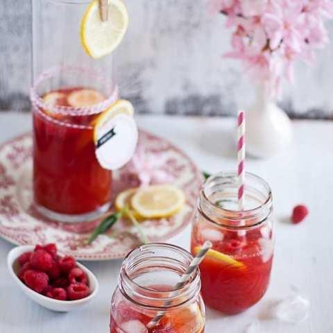 raspberry lemon ice tea 5