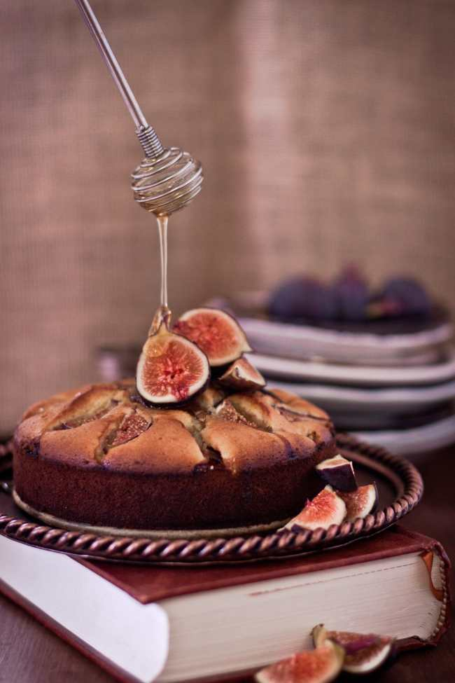 honeyed fig cake 1