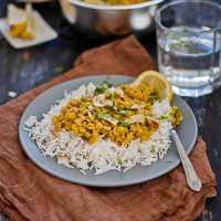 Split Bengal Gram with Indian five-spice : Playful Cooking