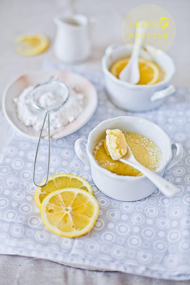 Lemon Pudding @Playful Cooking