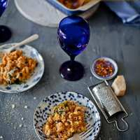 Vodka Mac and Cheese @ Playful Cooking