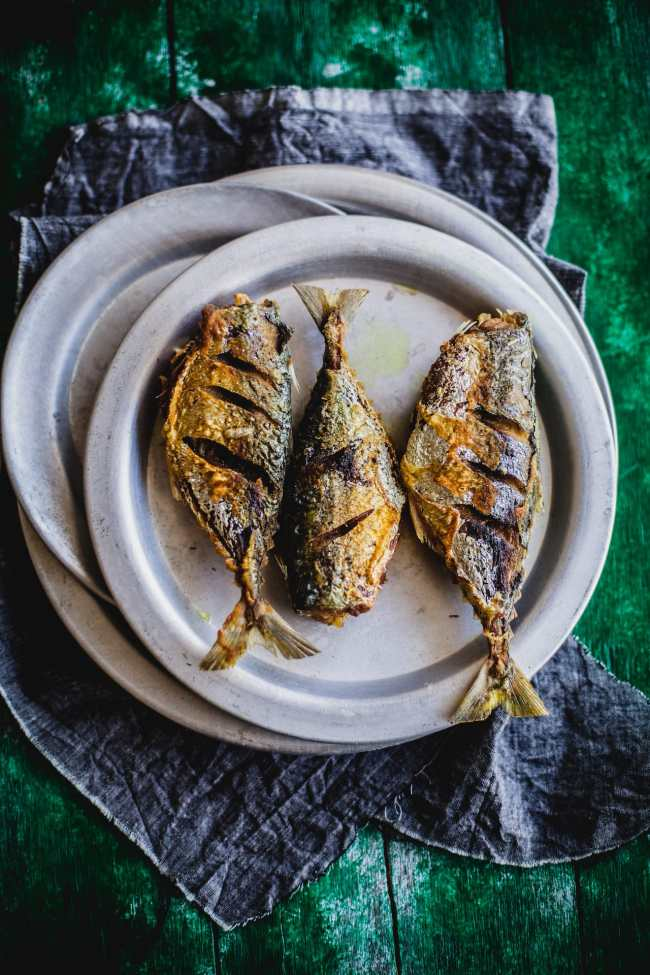 Mackerel with fresh peppercorn and coconut milk | Playful Cooking