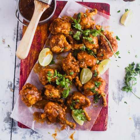 Mango Chili Chicken Lollipop | Playful Cooking