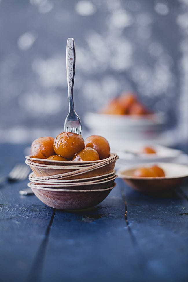 Gulab Jamun with Sweet Potatoes | Playful Cooking