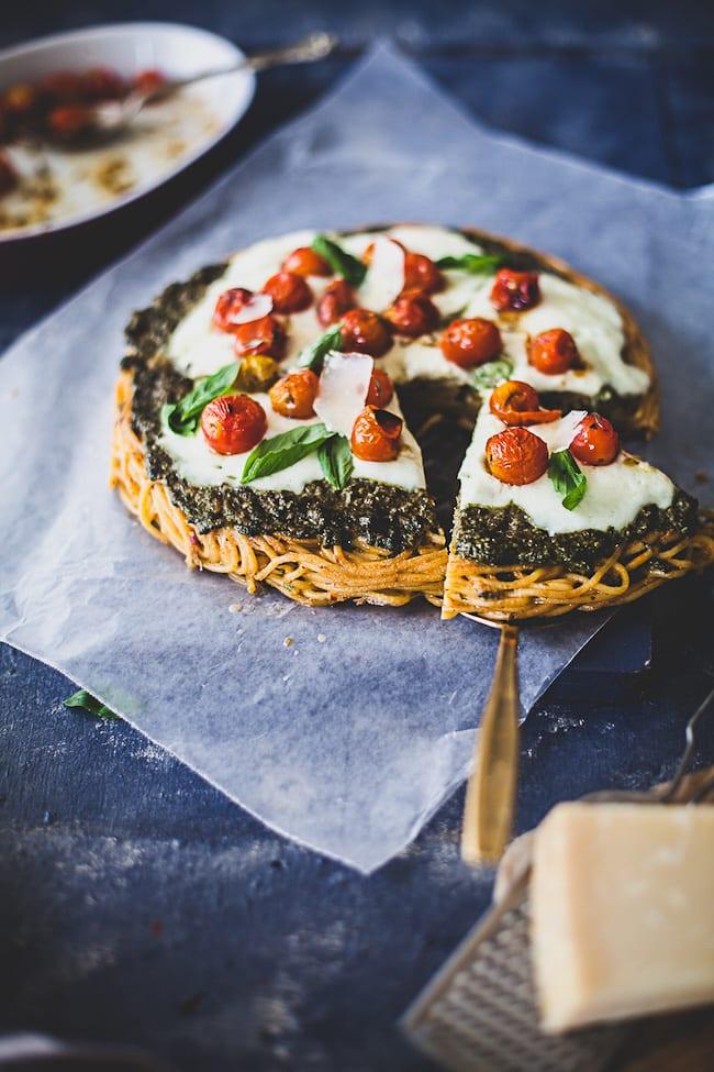 Spaghetti Pizza | Playful Cooking