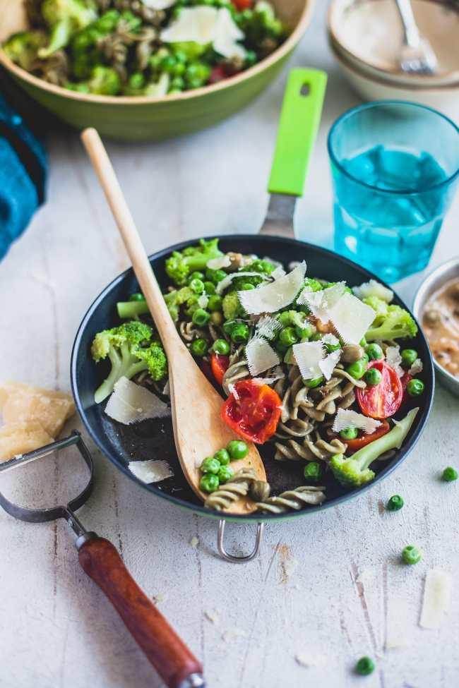 Green Summer Pasta | Playful Cooking