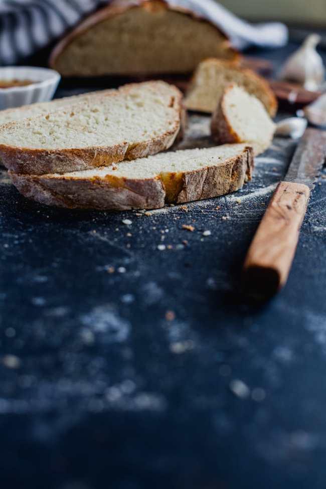 Rustic White Bread 04