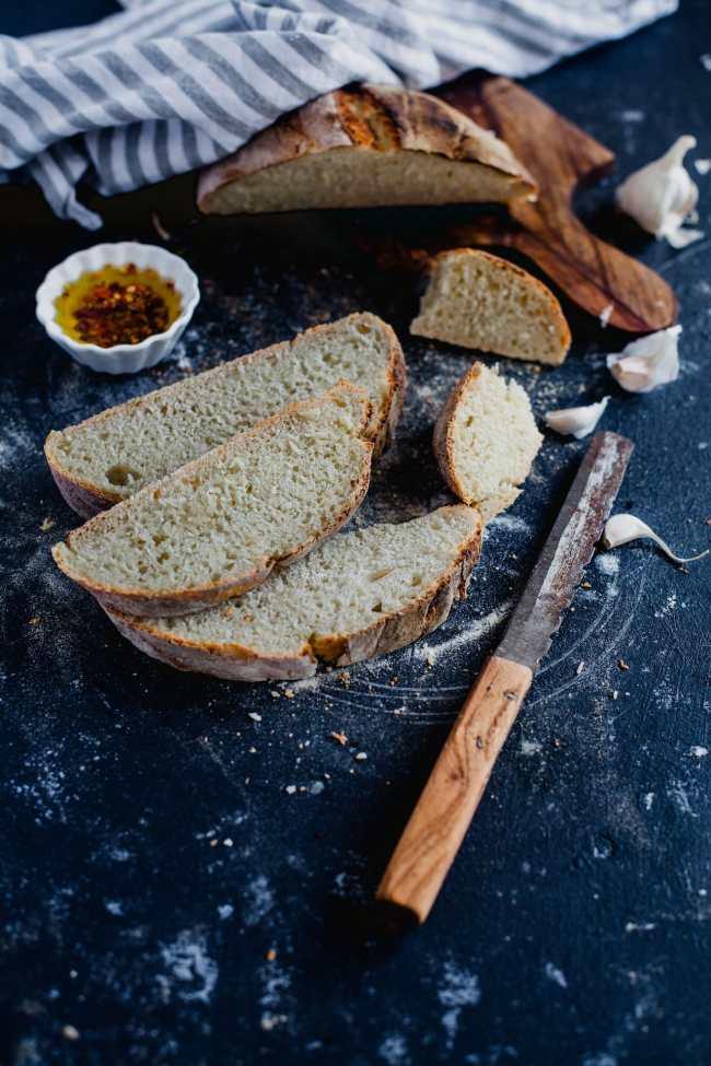 Rustic White Bread 05