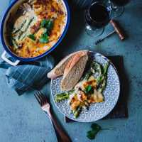 Asparagus Gratin | Playful Cooking