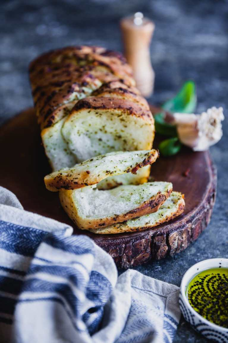Pesto Pull Apart Bread | Playful Cooking