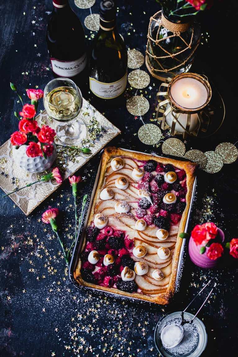 Fruit and Meringue Tart | Playful Cooking