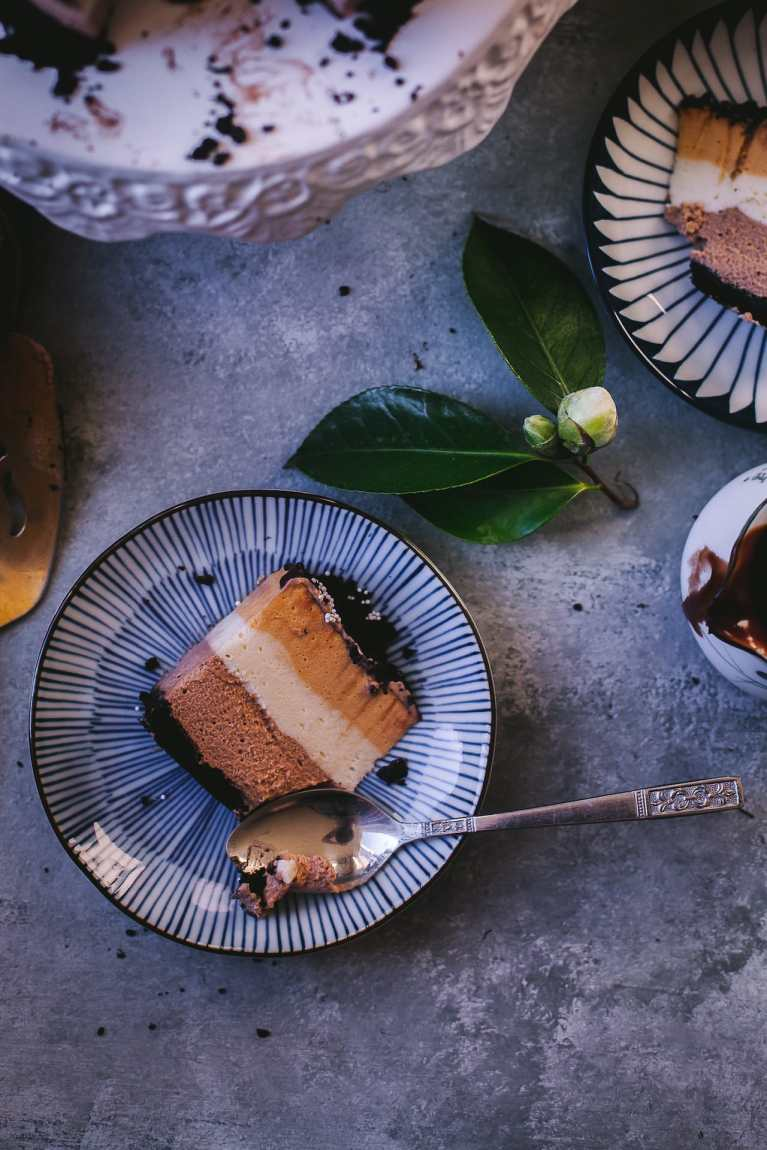 Triple Chocolate Mousse Cake | Playful Cooking