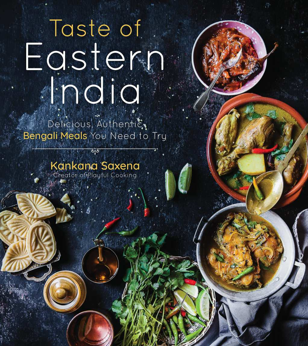 Taste of Eastern India (Cookbook Cover Photo) | Playful Cooking