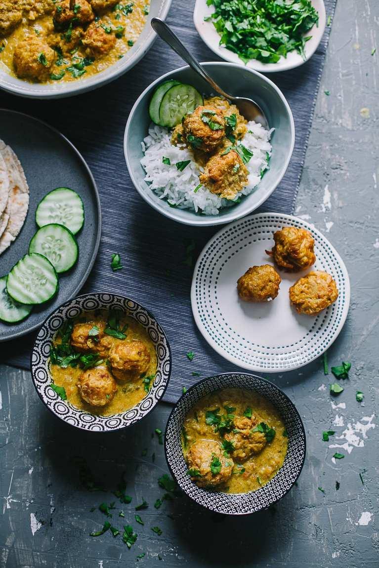 Badami Lauki Kofta (Bottle Gourd Dumpling in Almond Curry)   Playful Cooking