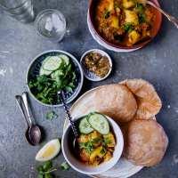 Aloo tamatar Sabzi (Potato Tomato Stew) | Playful Cooking #potato #tomato #stew #indian #curry #foodphotography