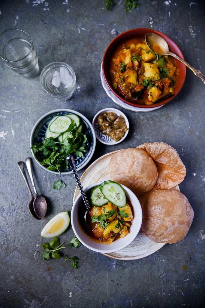 Aloo Tamatar Sabzi (Potato and Tomato Spiced Stew)   Playful Cooking
