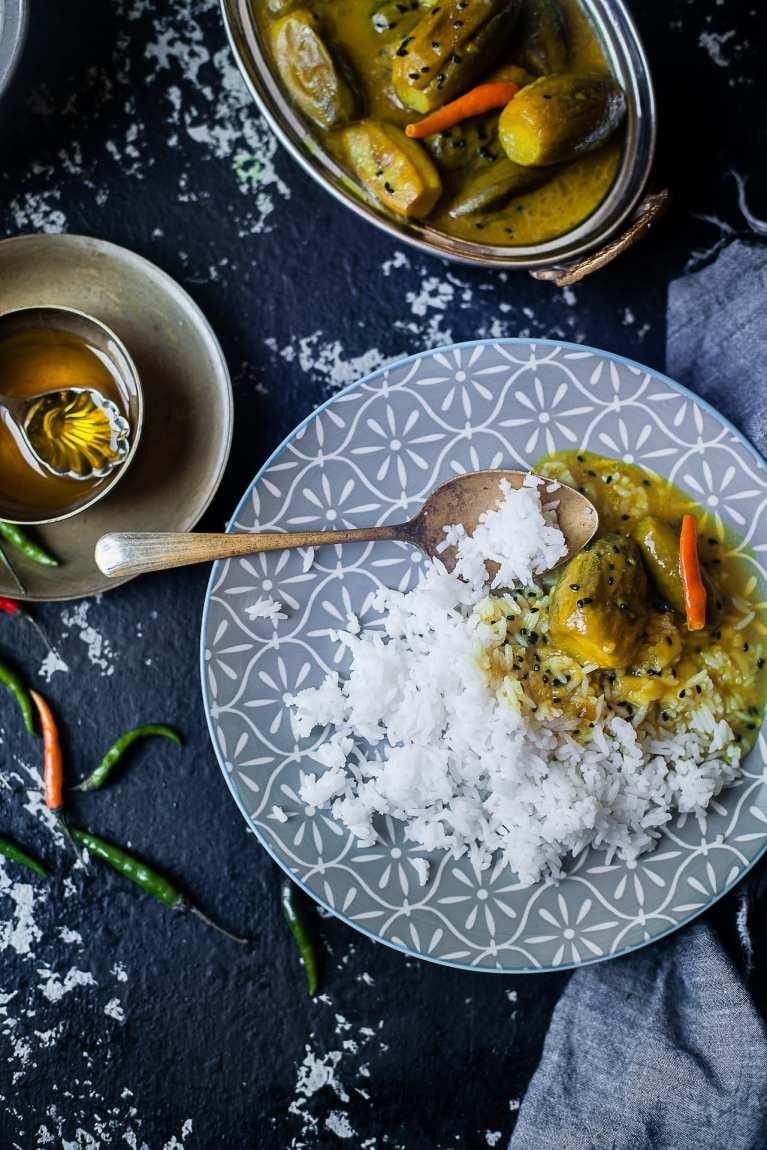 Bengali Vegetarian curry