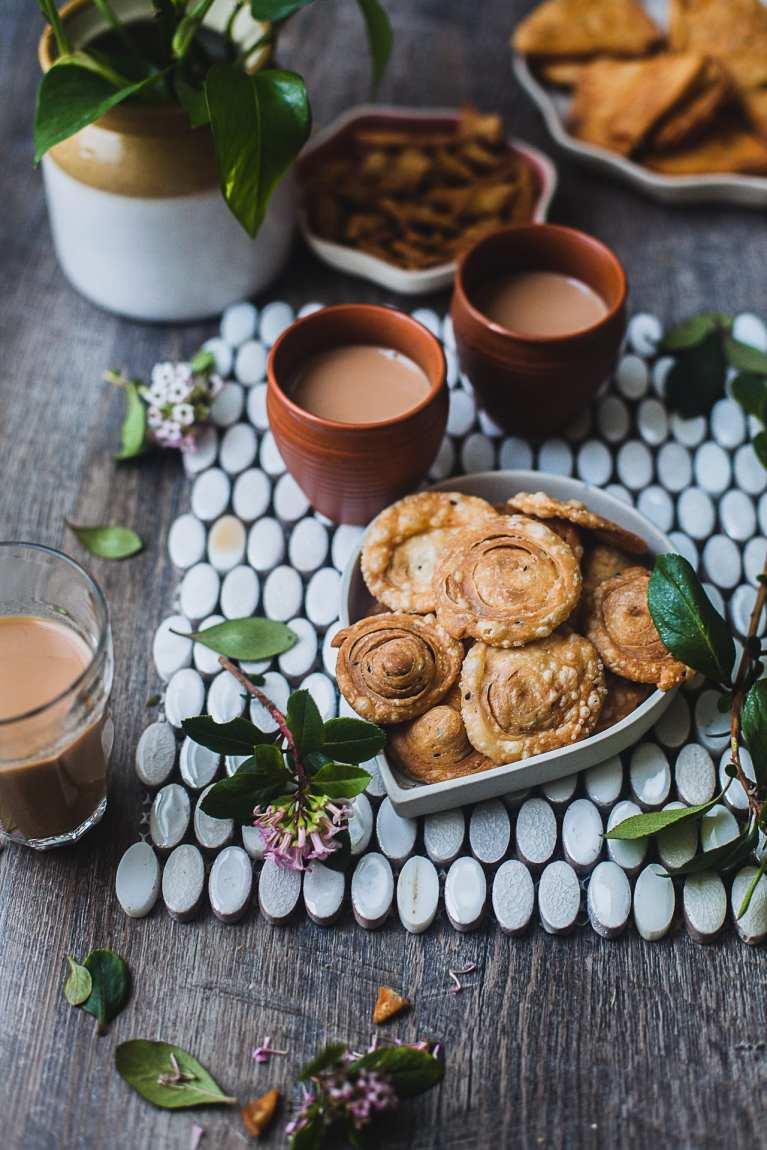 Nimki/Namak Pare (Crunchy Savory Crackers) – Shaped Three Simple Ways! | Playful Cooking