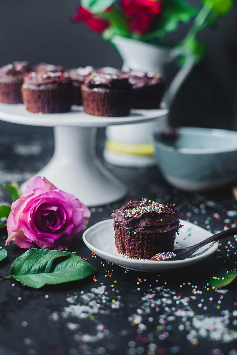 Food photography | Playful Cooking #cupcakes #chocolate #baking #dessert #onebowl