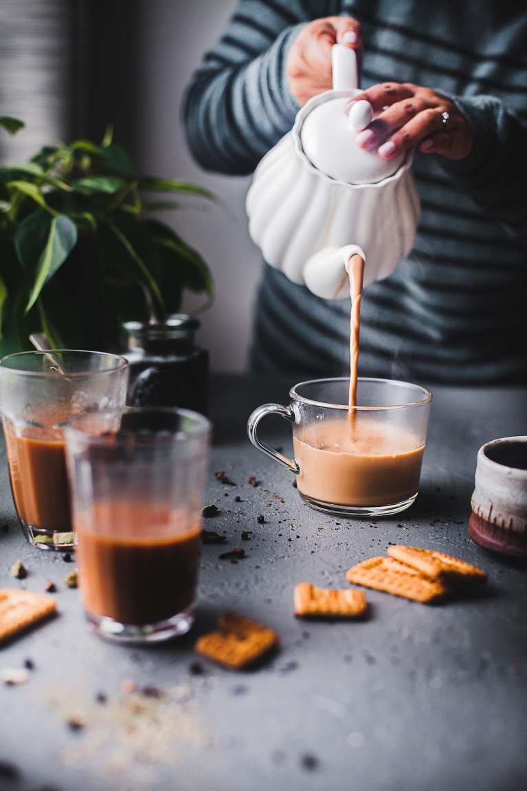 Tea Time | Playful Cooking #tea #foodphotography #masalachai #chai #latter #indian