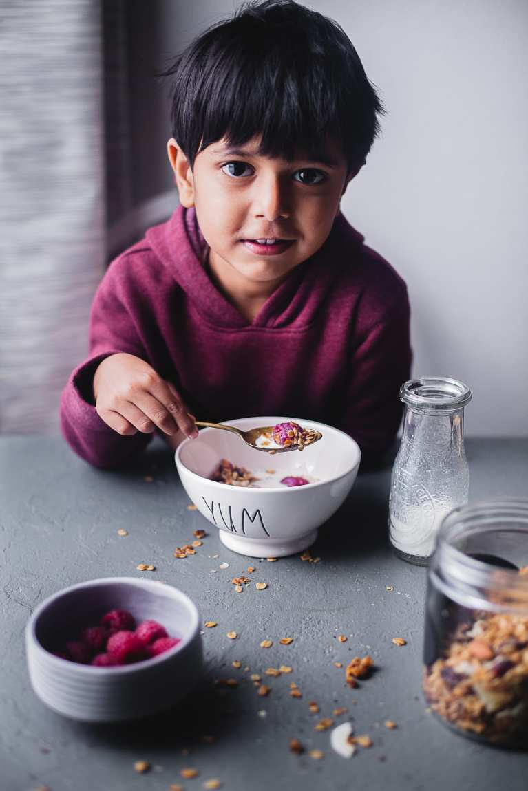 my sweet baby | Playful Cooking #granola #simple #breakfast #foodphotography