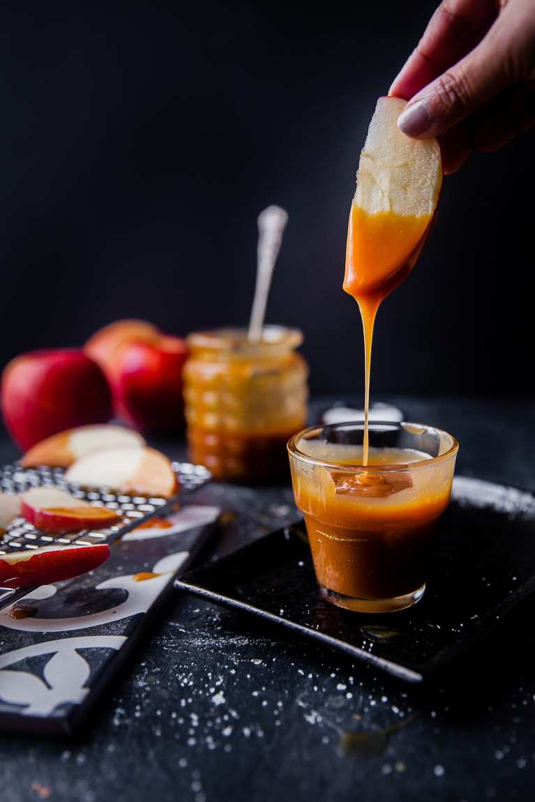How to make Salted Caramel | Playful Cooking #saltedcaramel #caramel #foodphotography #foodstyling