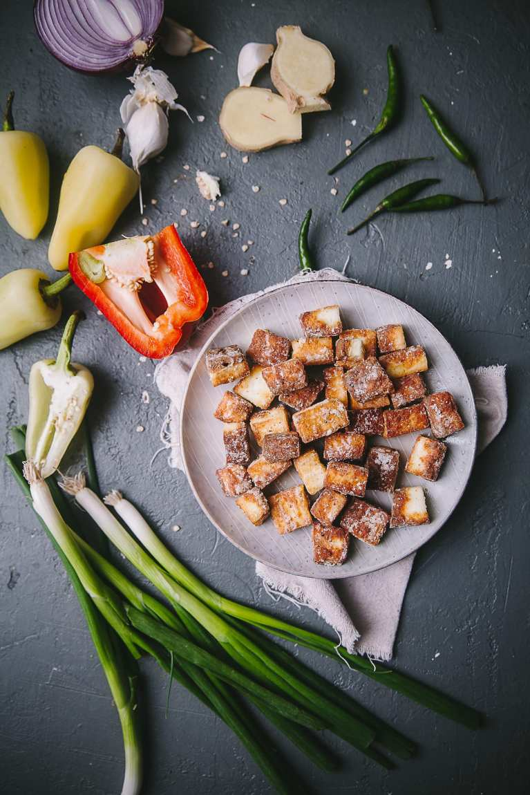 Spicy Chilli Paneer | Playful Cooking #paneer #chili #indianfood #foodphotography