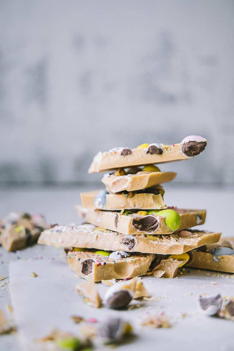 Caramelized White Chocolate Bark 5