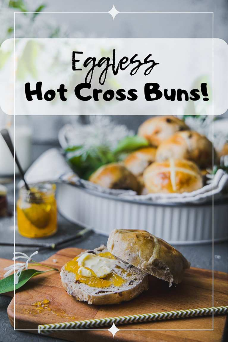 Easter special HOT CROSS BUNS and keeping it EGGLESS #easter #bread #baking #hotcrossbuns #buns #foodphotography #playfulcooking