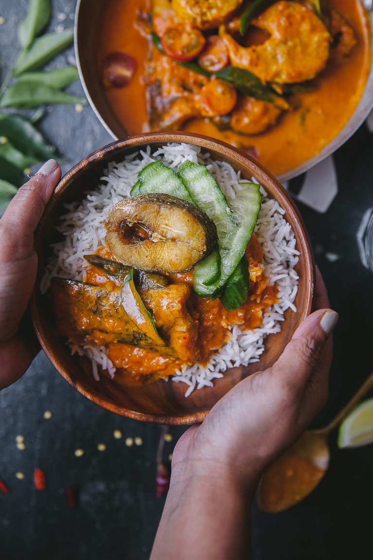 Kerala Style Fish Curry 15