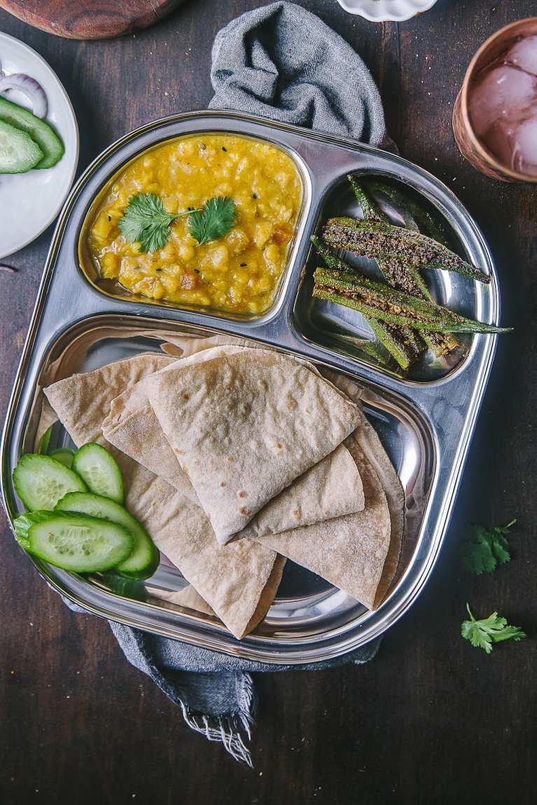 Bharwa Masala Bhindi (Spice Stuffed Okra) 15